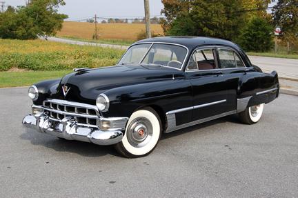 The pipe creek trading company 1955 cadillac convertible for 1949 cadillac 4 door sedan